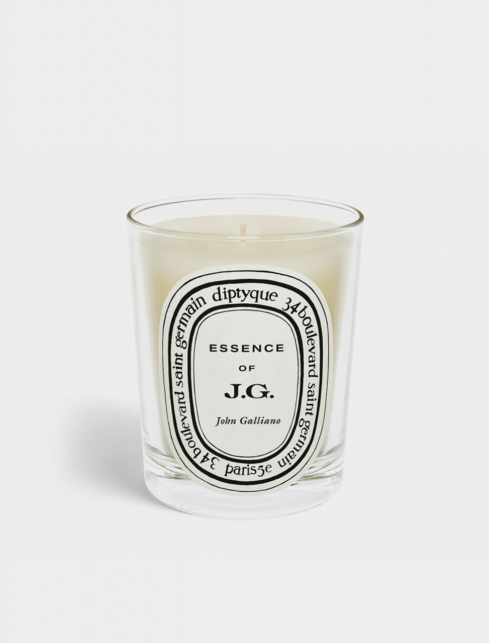 337-JG2 DIPTYQUE ESSENCE OF JOHN GALLIANO STANDARD CANDLE
