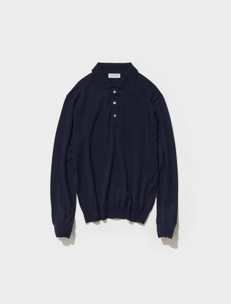 909090_800 ANOTHER ASPECT POLO SHIRT 2.0 IN MIDNIGHT BLUE