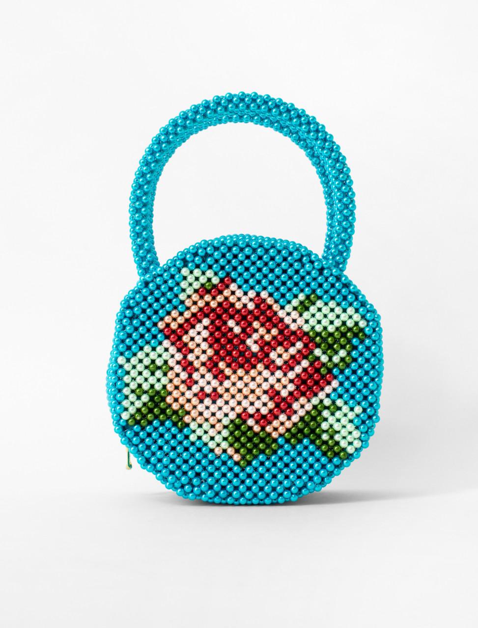 Rosa Beaded Bag