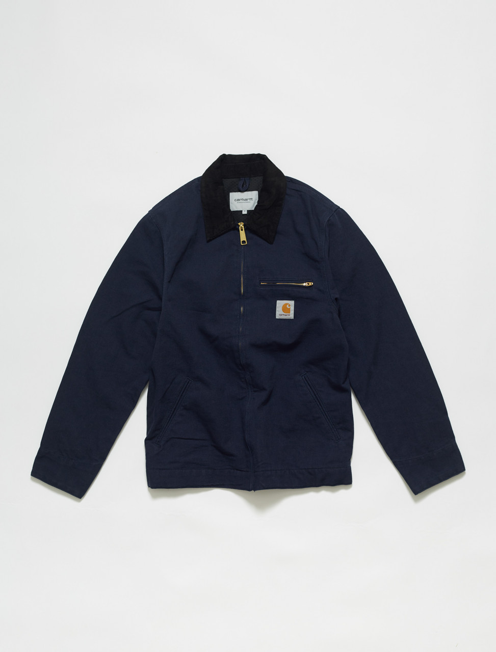 I026467-1C CARHARTT DETROIT JACKET IN DARK NAVY
