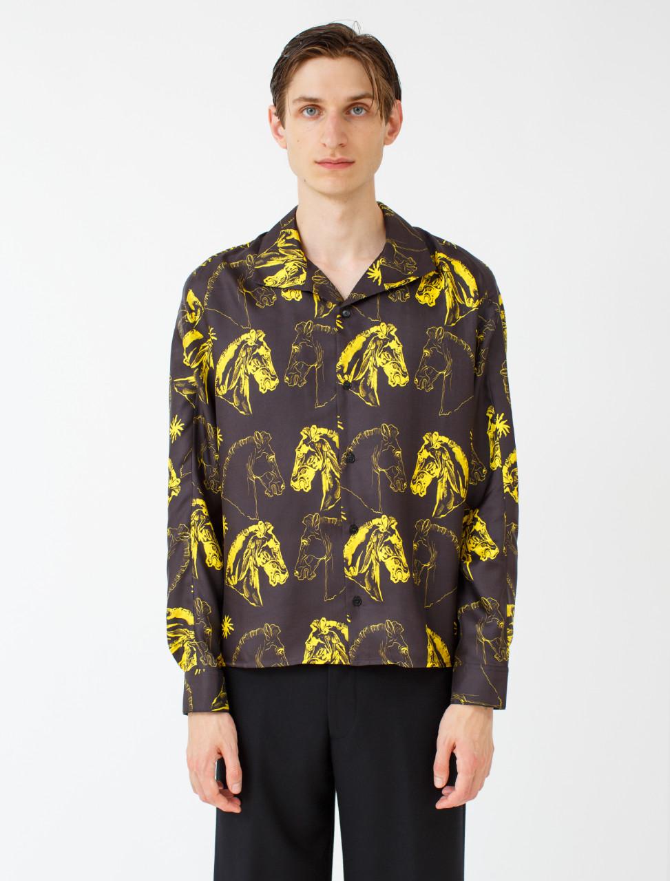Dylan Poet Collar Shirt