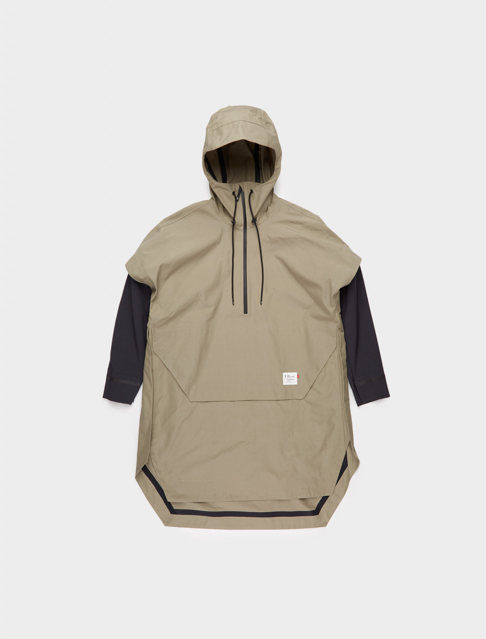 346-751-00353 ON RUNNING SWISS LEGACY JACKET OLIVE BLACK