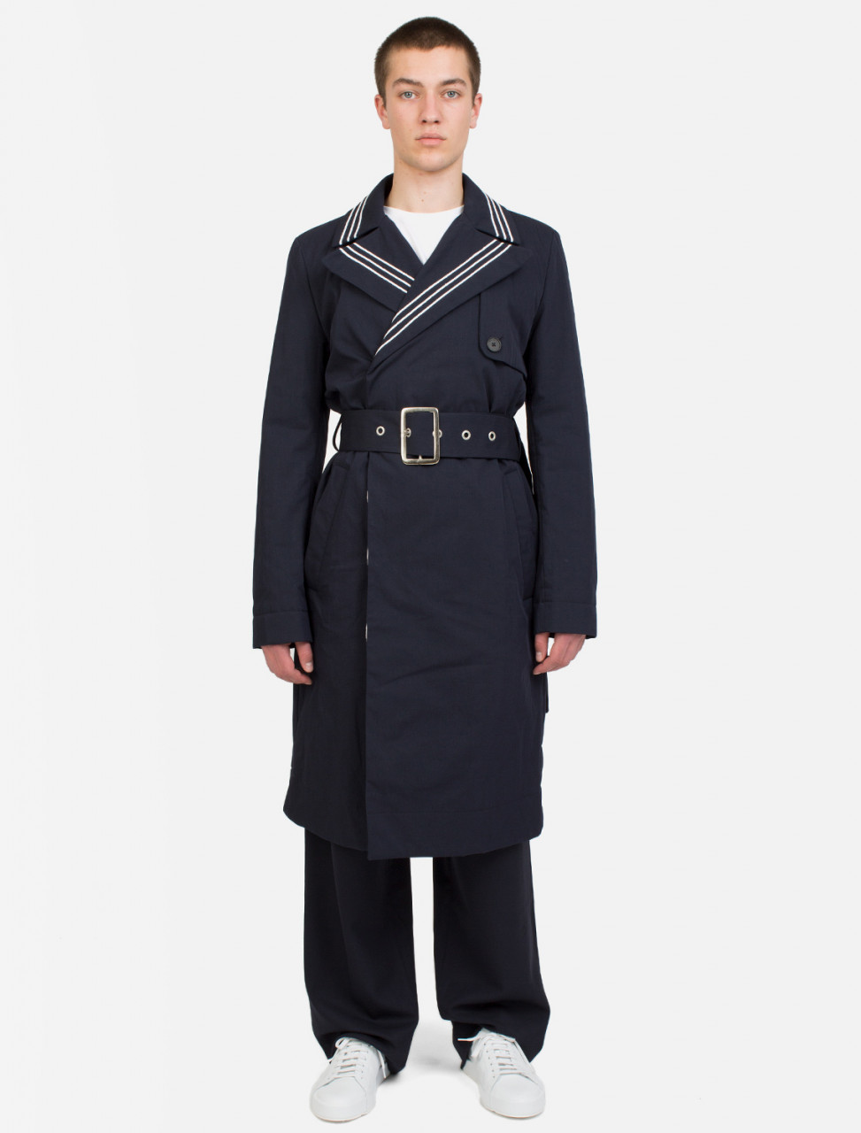 Wadded Trench Coat