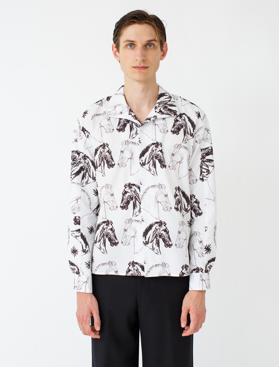 Dylan Poet Collar Shirt