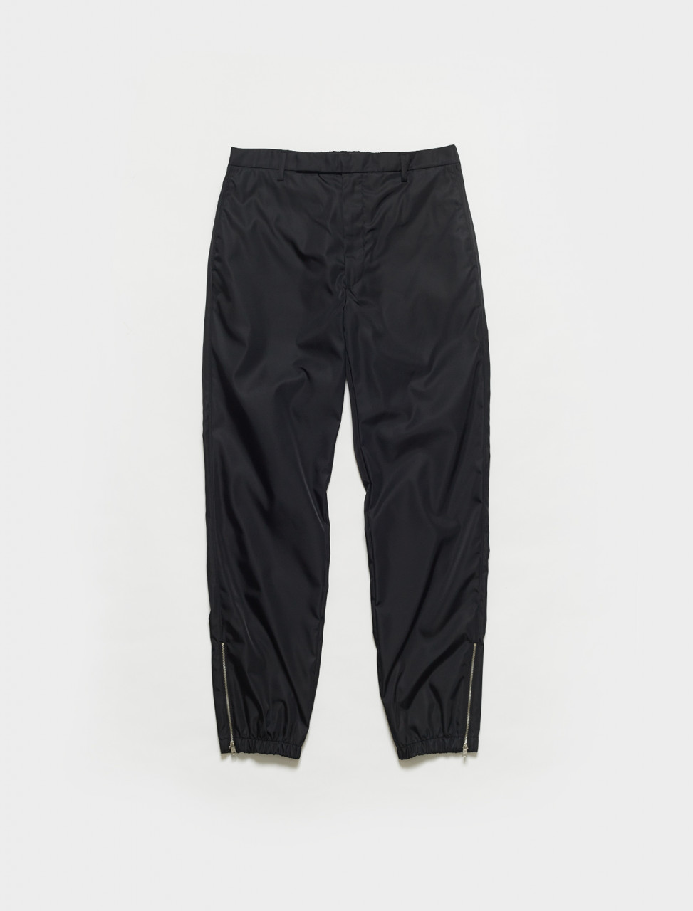 SPH109-F0002 PRADA RE-NYLON STRAIGHT FIT TROUSER IN BLACK