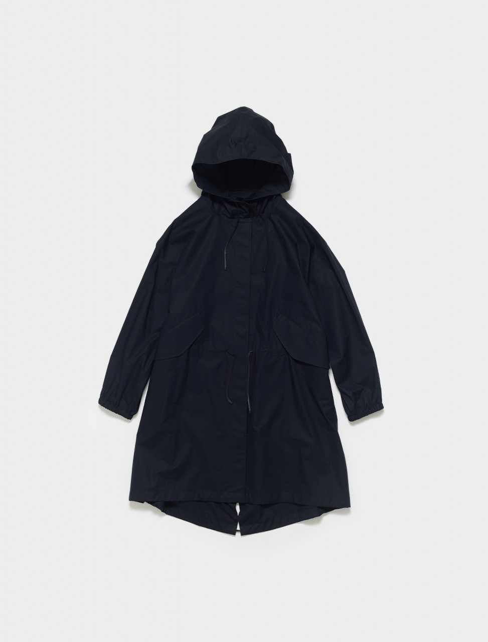 JSES430005-WS244900A-402 JIL SANDER COTTON PARKA IN DARK BLUE