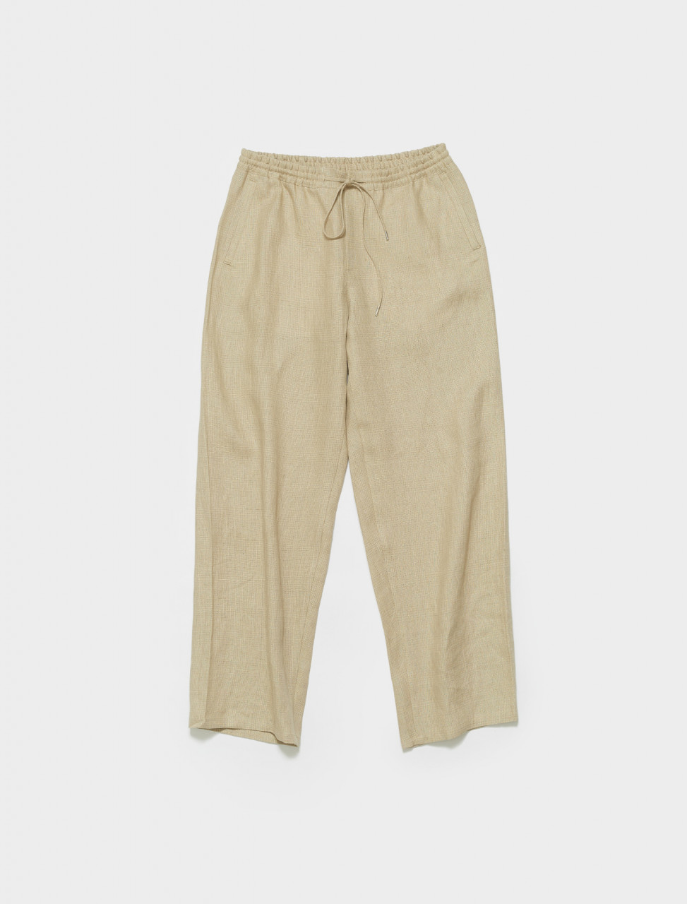 205-807-107 A KIND OF GUISE SAMURAI TROUSERS DESERT CHECK