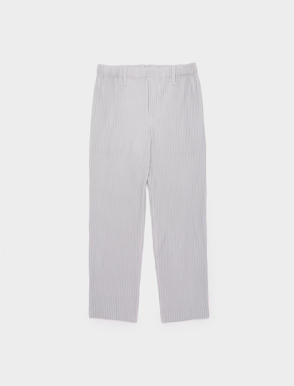 255-HP08JF150-11 ISSEY MIYAKE PANTS HP08 JF150 BASICS LIGHT GREY
