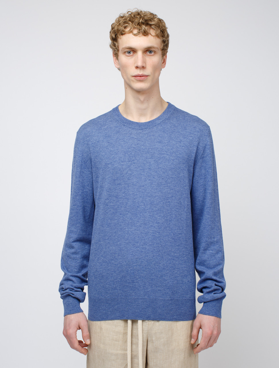 Pullover with Elbow Patches