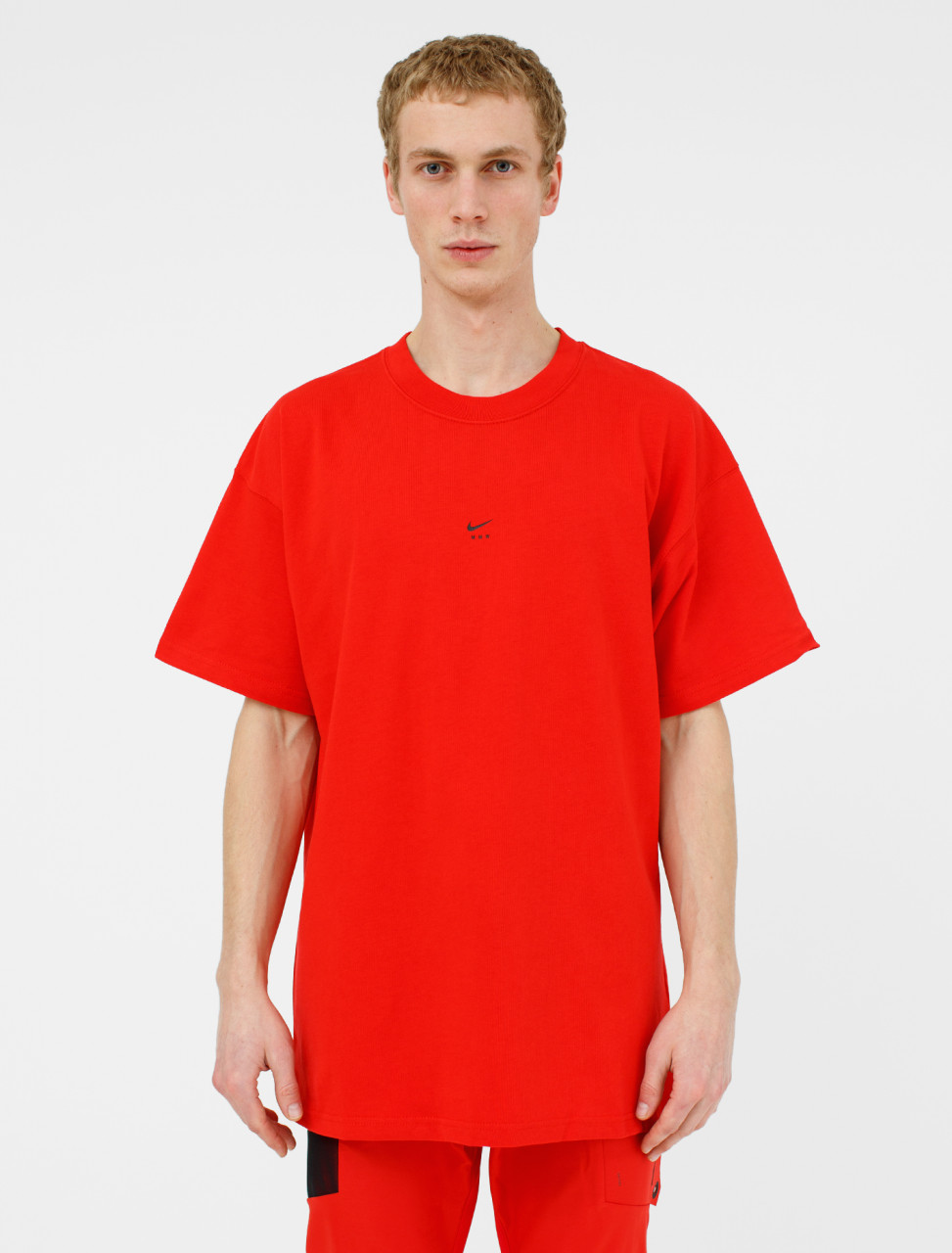 x MMW Short Sleeve T-Shirt in University Red