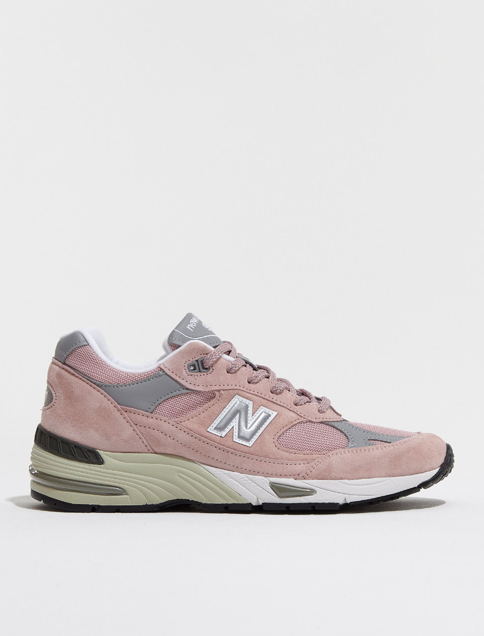M991PNK NEW BALANCE M 991 'MADE IN ENGLAND' SNEAKER IN PINK