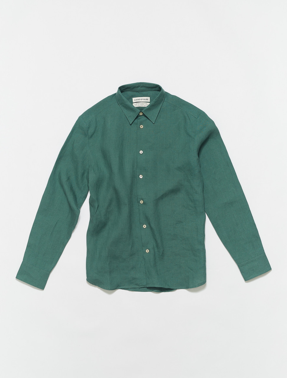 102-700-512 A KIND OF GUISE FLORES SHIRT JADE
