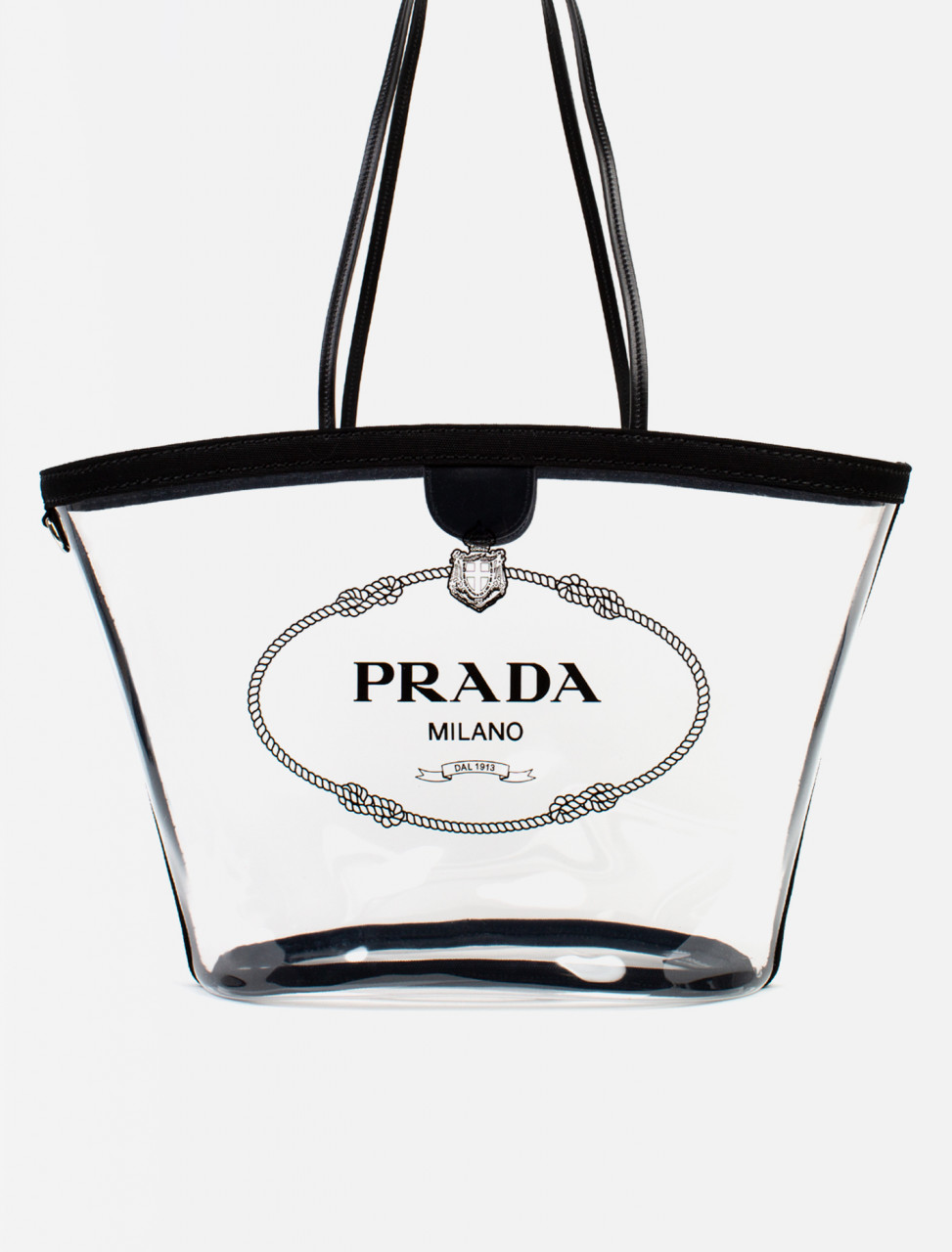 34c4c1ada847 Prada Clear PVC Handbag | Voo Store Berlin | Worldwide Shipping