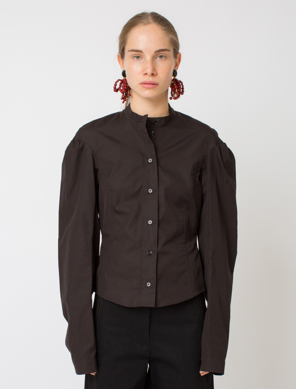 Fitted Collar Shirt