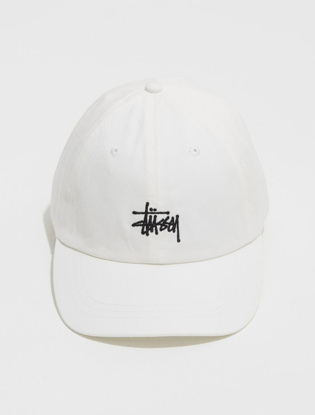 131982 1002 STUSSY STOCK LOW PRO CAP IN NATURAL
