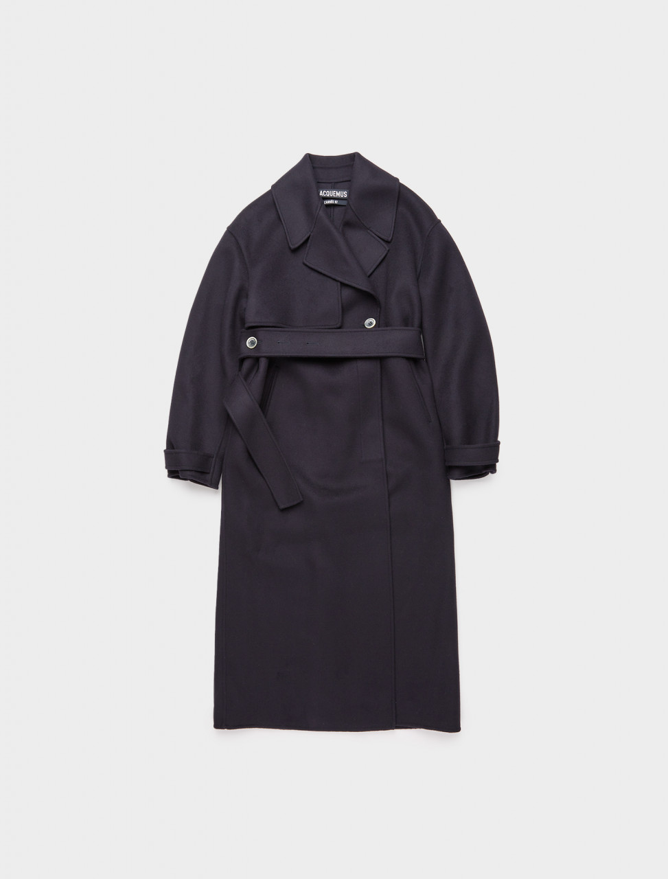 265-203CO04-203-111380 JACQUEMUS LA MANTEAU SABE NAVY