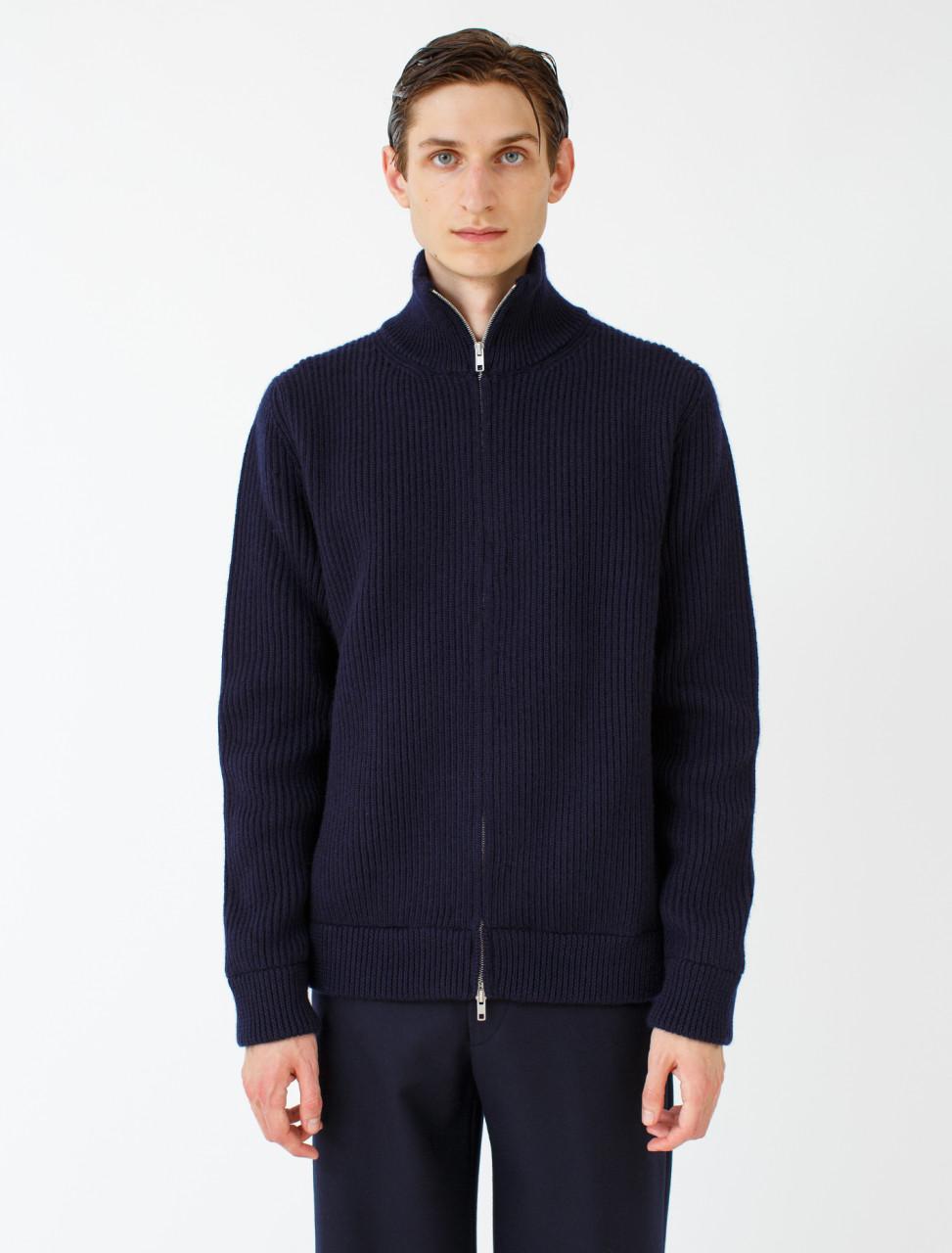 Turtleneck Zip Sweater