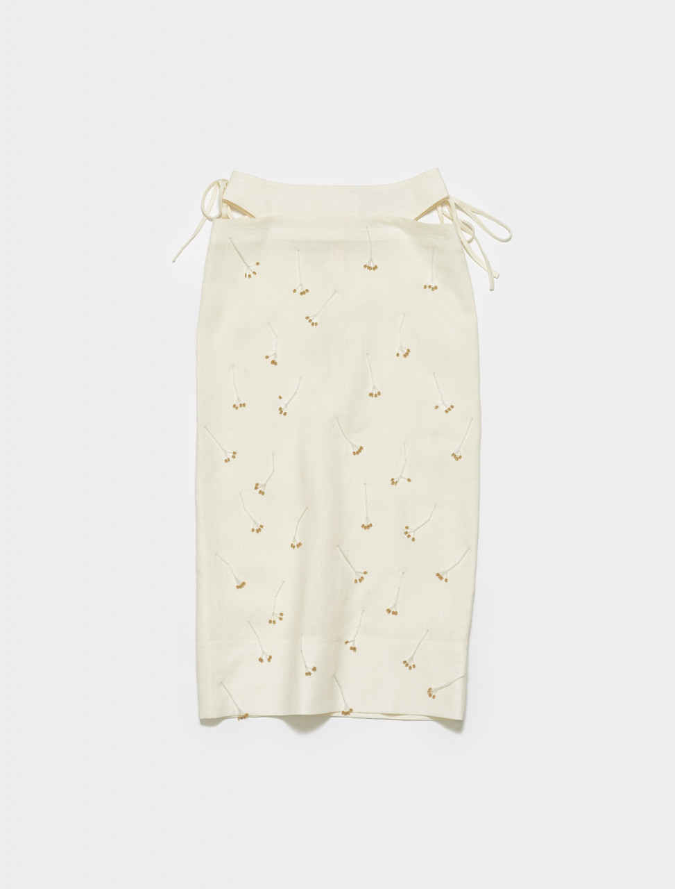 211SK01-211 12711A JACQUEMUS LA JUPE BLE IN EMBROIDERED ECRU211SK01-211 12711A JACQUEMUS LA JUPE BLE IN EMBROIDERED ECRU