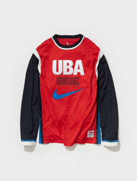 CW8014 611 NIKE X UNDERCOVER SHORTS IN UNIVERSITY RED