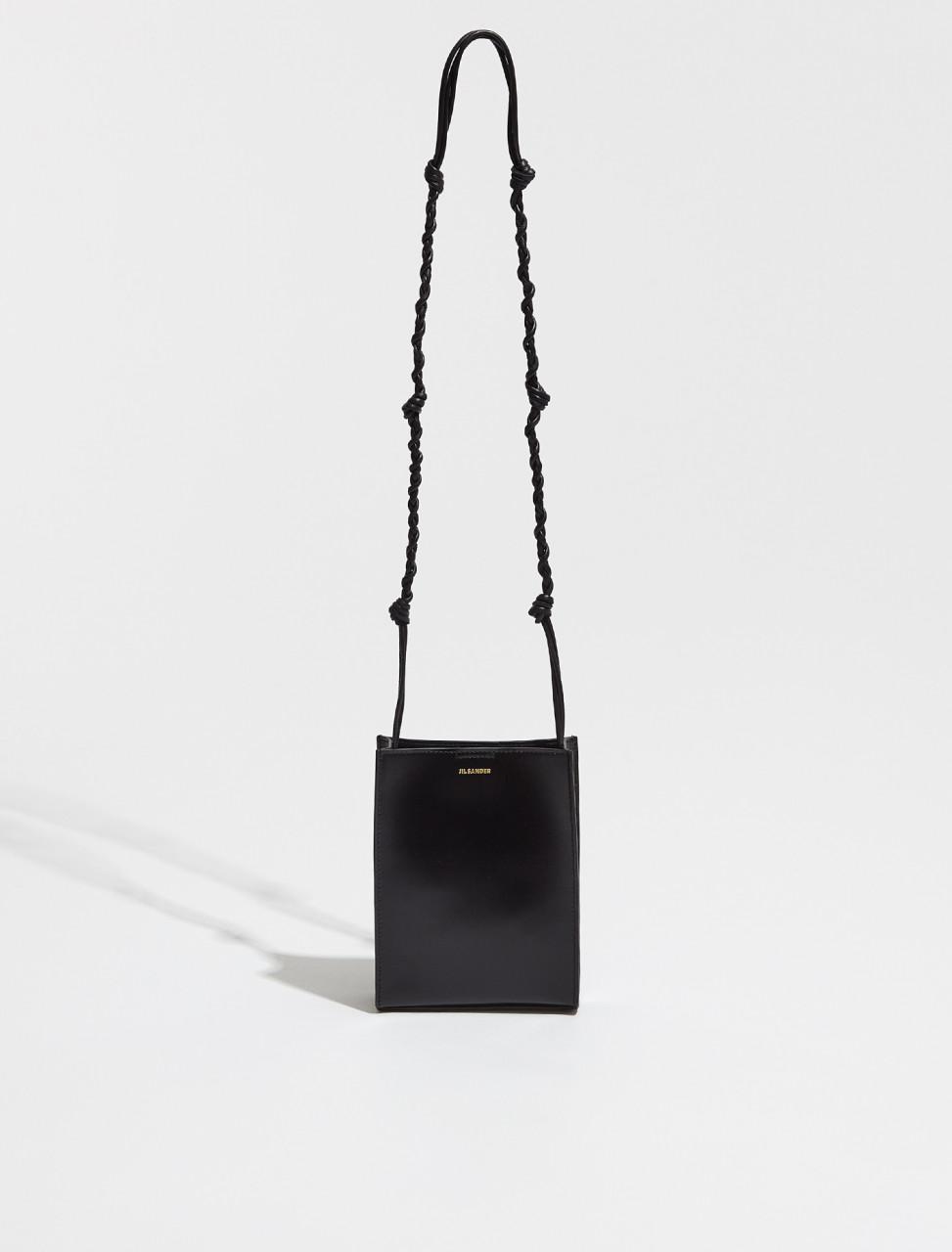 JSPT853173_WTB69158N_001 JIL SANDER TANGLE SMALL BAG IN BLACK