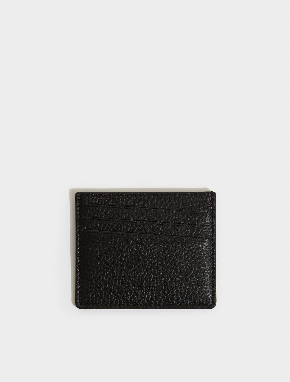 S35UI0432-H1669 MAISON MARGIELA CARD HOLDER IN BLACK