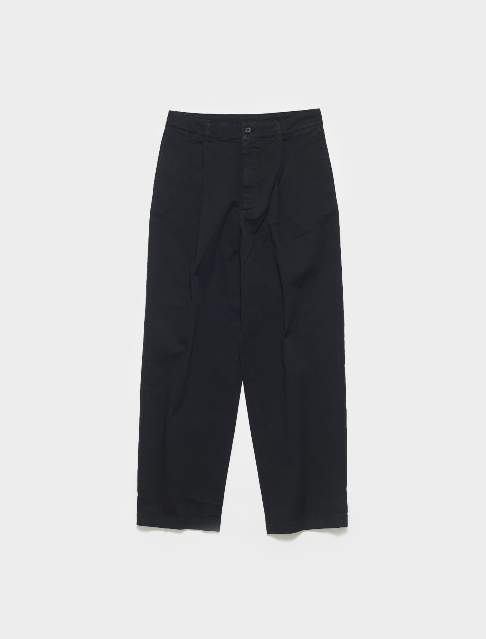 BK0364-900 ACNE STUDIOS PINO SUMMER TROUSERS IN BLACK