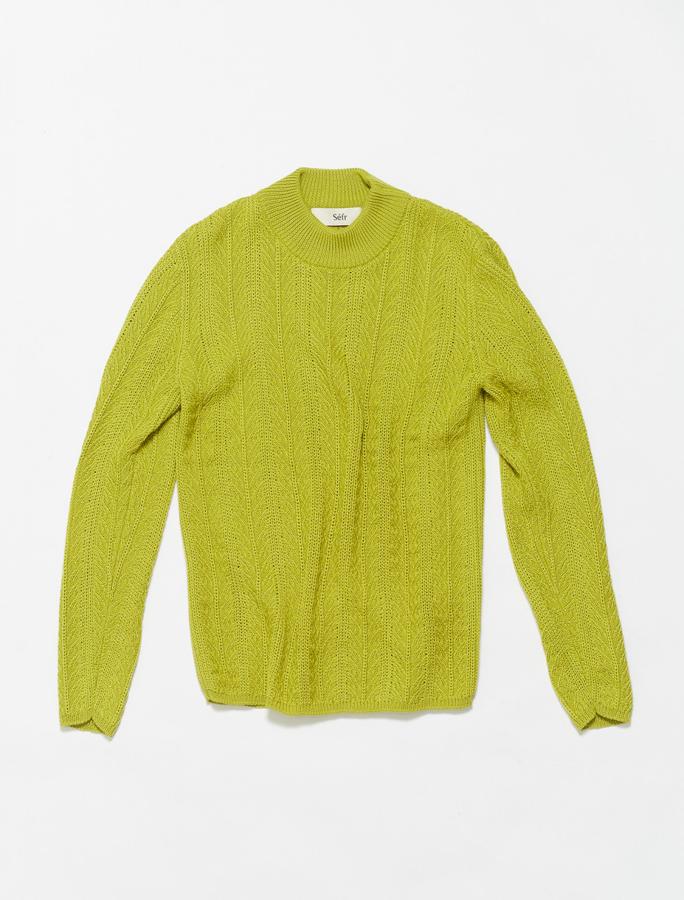 RS-PG SEFR RUFUS SWEATER PISTASCH GREEN