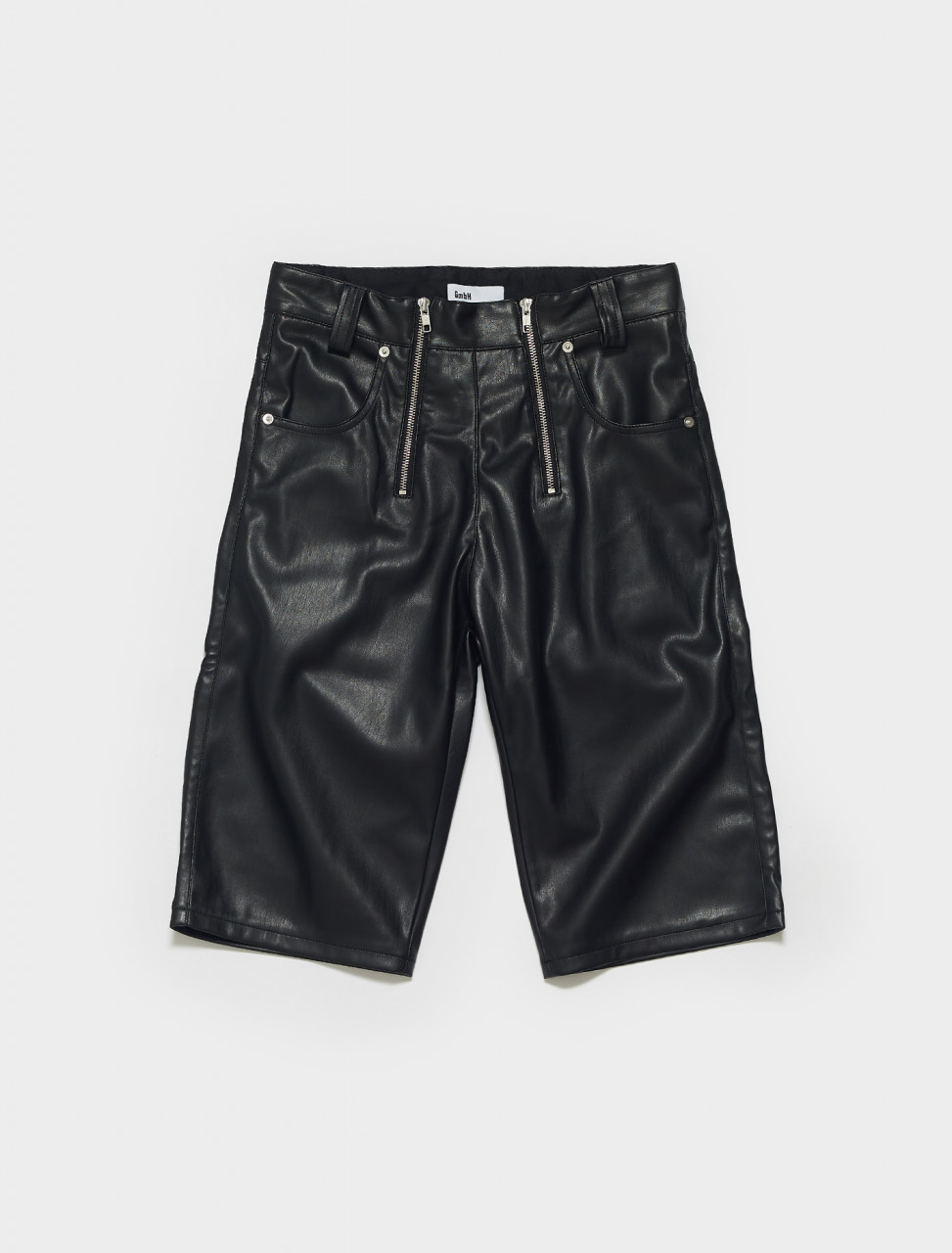 AMIR_LT_M-BLACK GMBH AMIR VEGAN SHORTS BLACK