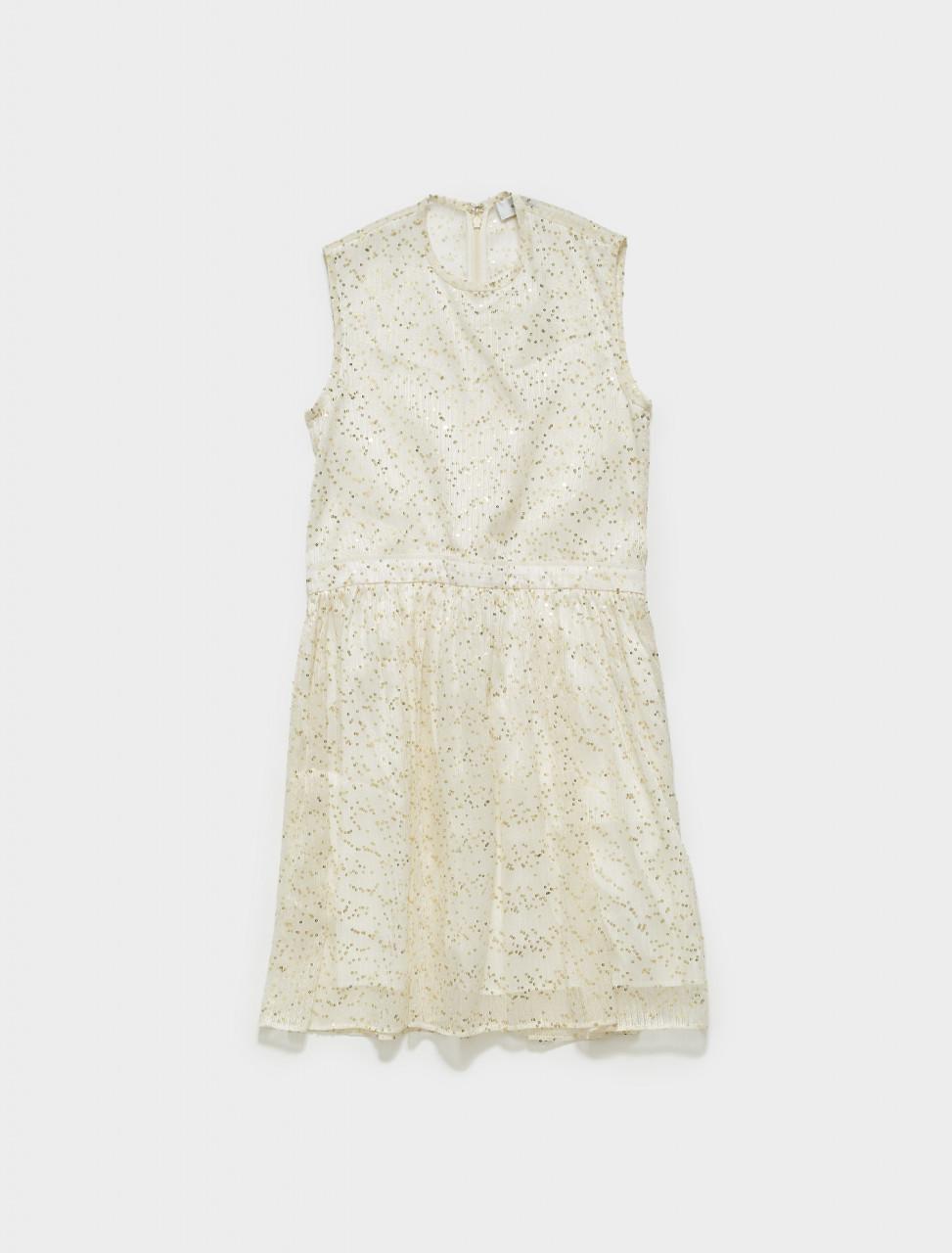 116-3048R56-000 CARVEN BABY DOLL DRESS WHITE