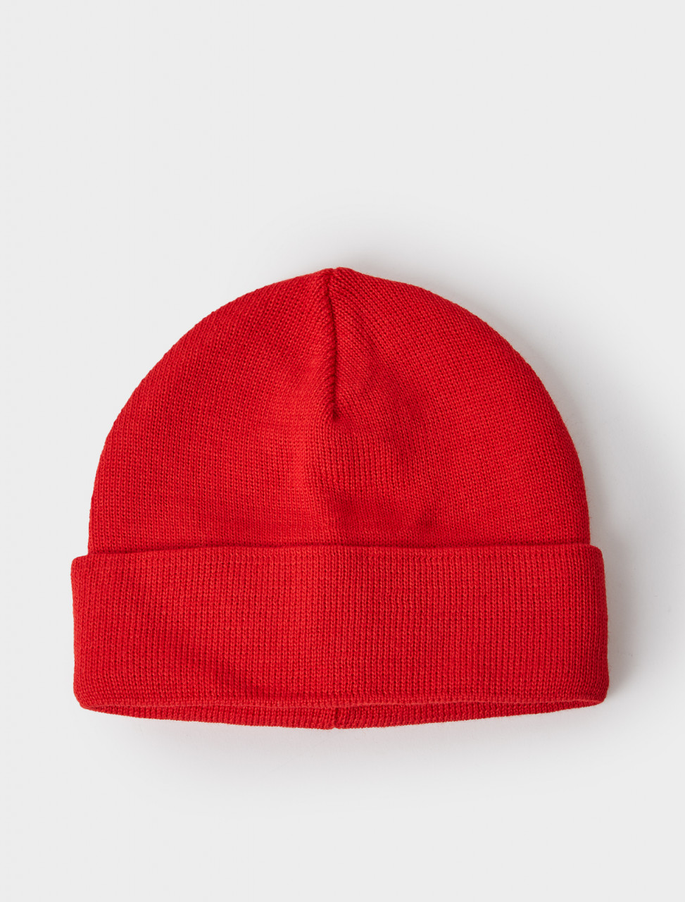 309600 ALASKA WOOL MIX BEANIE RED