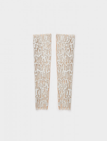 1000707 KASIA KUCHARSKA ARM OR LEG PIECE PAIR WHITE
