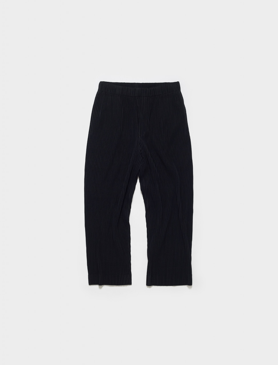 HP16JF149-15 HOMME PLISSE ISSEY MIYAKE PLEATED TROUSERS IN BLACK