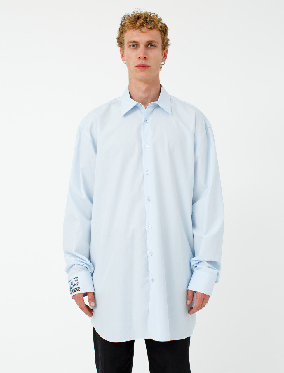 Embroidered Big Fit Shirt