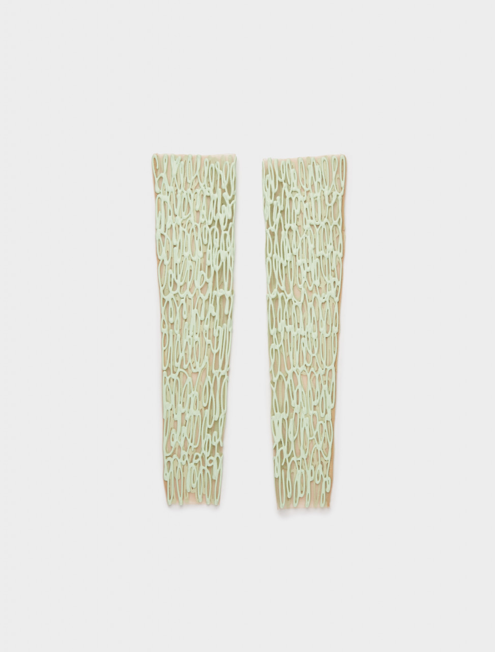 1000708 KASIA KUCHARSKA ARM OR LEG PIECE PAIR GREEN