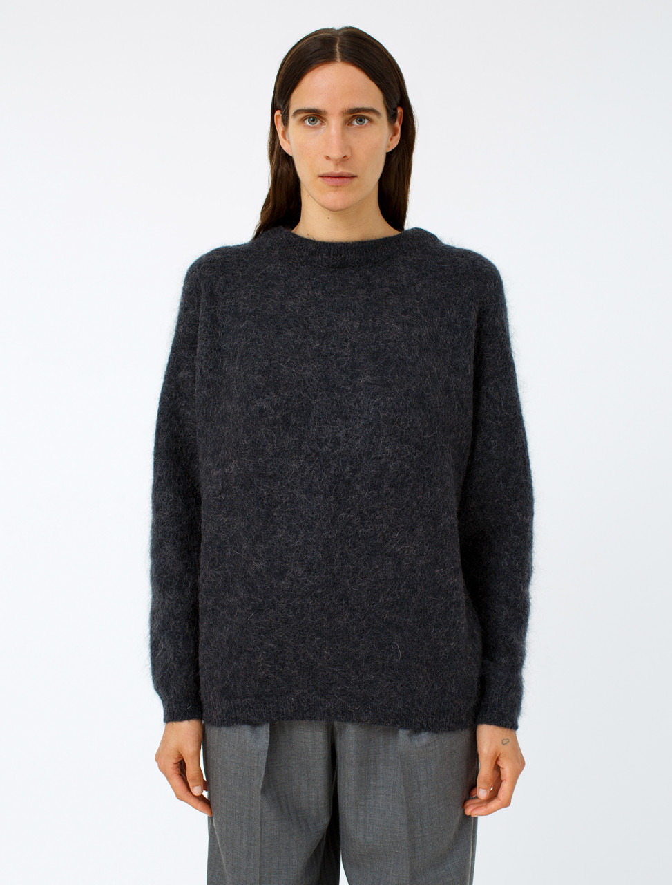 Dramatic Mohair Pullover