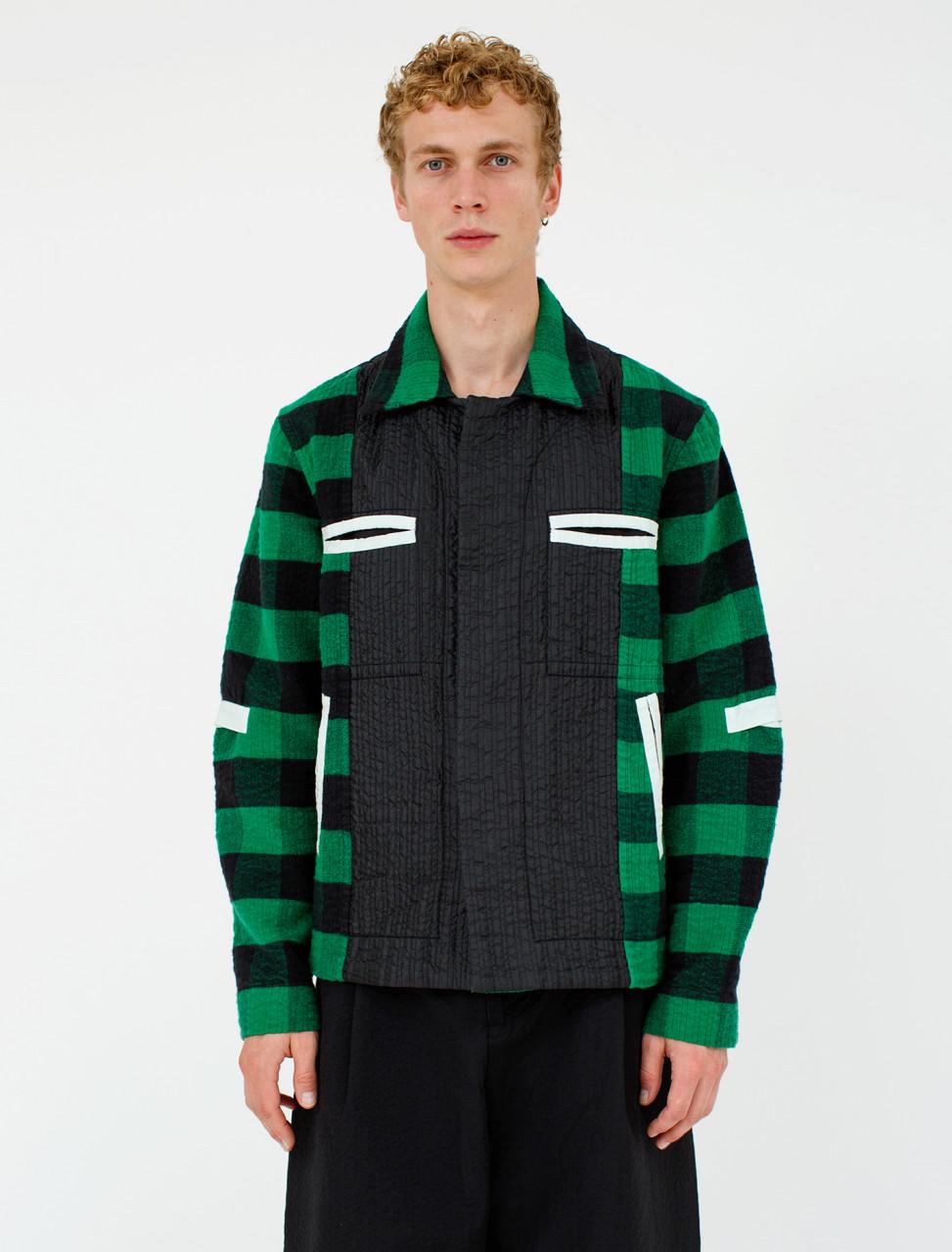 Plaid Worker Jacket
