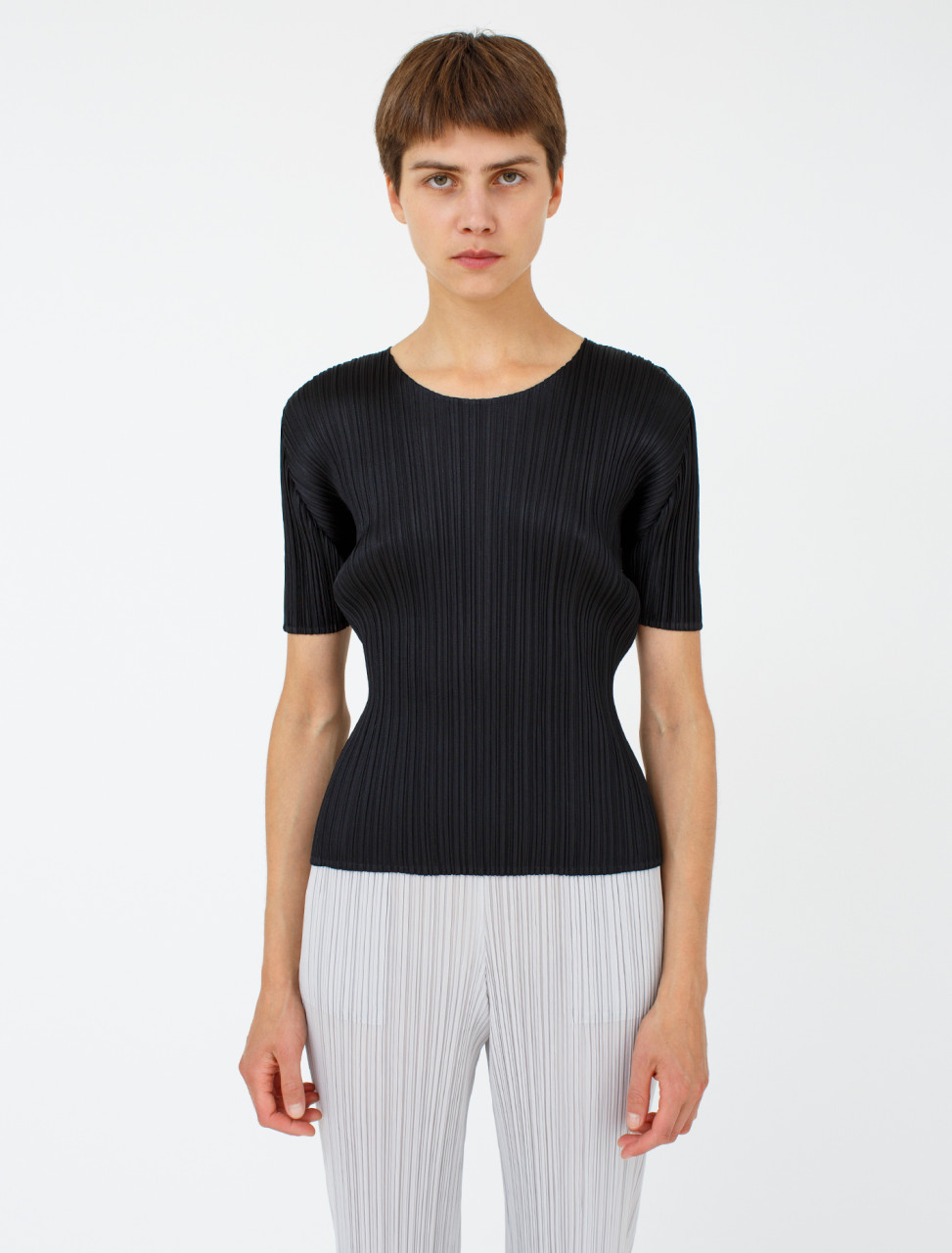 Pleats Please Issey Miyake Pleated Shirt
