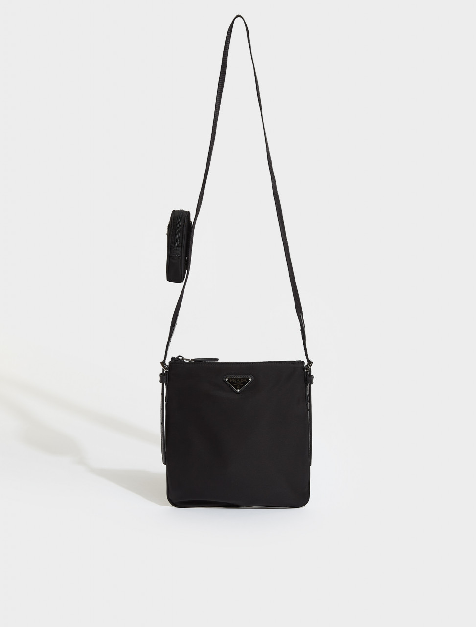 2VH124-F0002 PRADA BANDOLIERA BAG IN BLACK