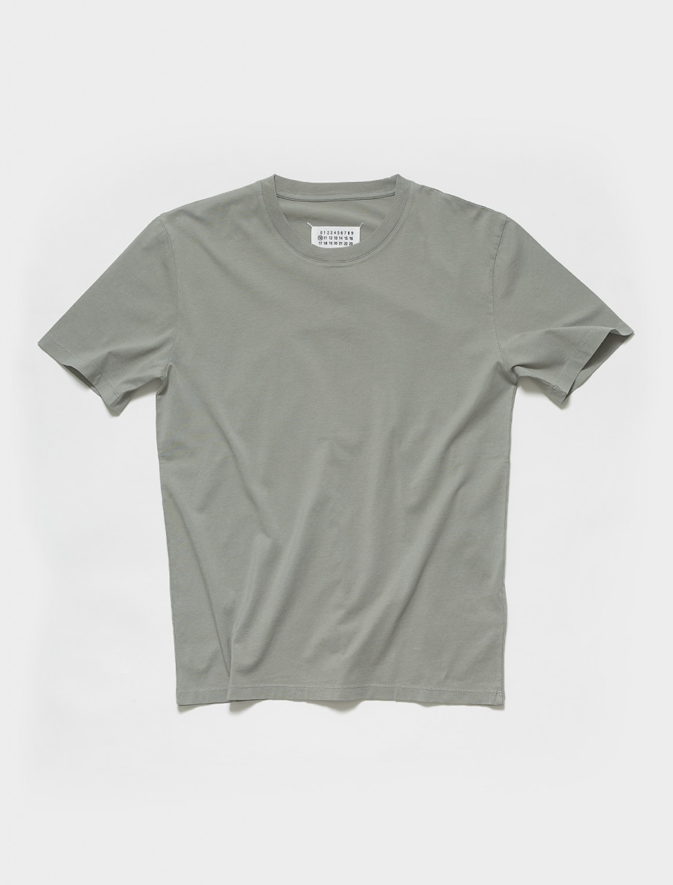 S50GC0622 MAISON MARGIELA T SHIRT IN SAGE