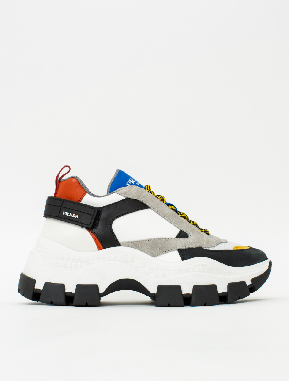 sports shoes 31156 f91aa Prada Sneaker with Chunky Midsole