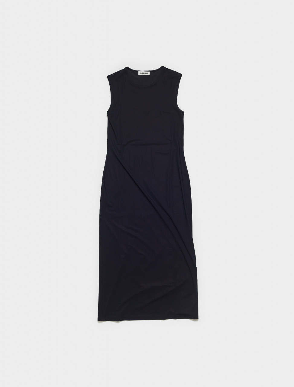 JSPS705038-WS477108-001 JIL SANDER LONG UNDERDRESS IN BLACK