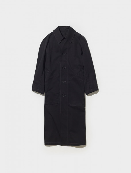 X 213 CO166 LF628 999 LEMAIRE RAINCOAT IN BLACK