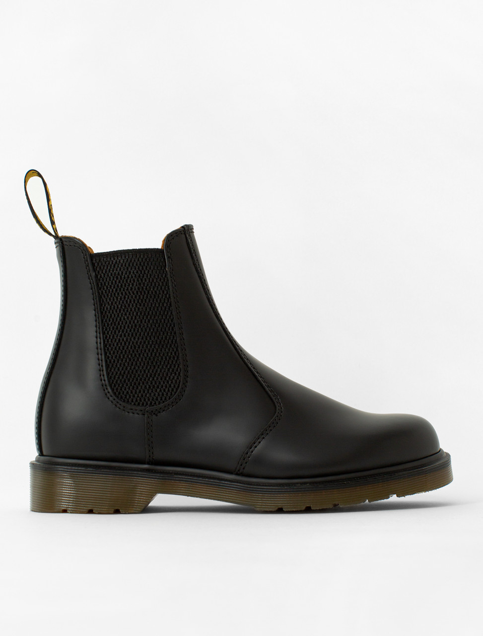 2976 Chelsea Boot in Black Smooth