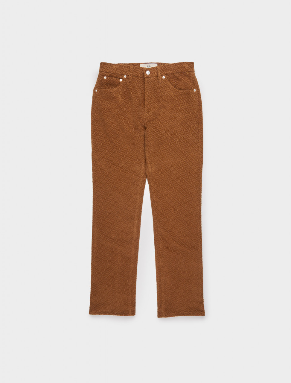 ST-OB SÉFR SIN TROUSERS OAK BROWN