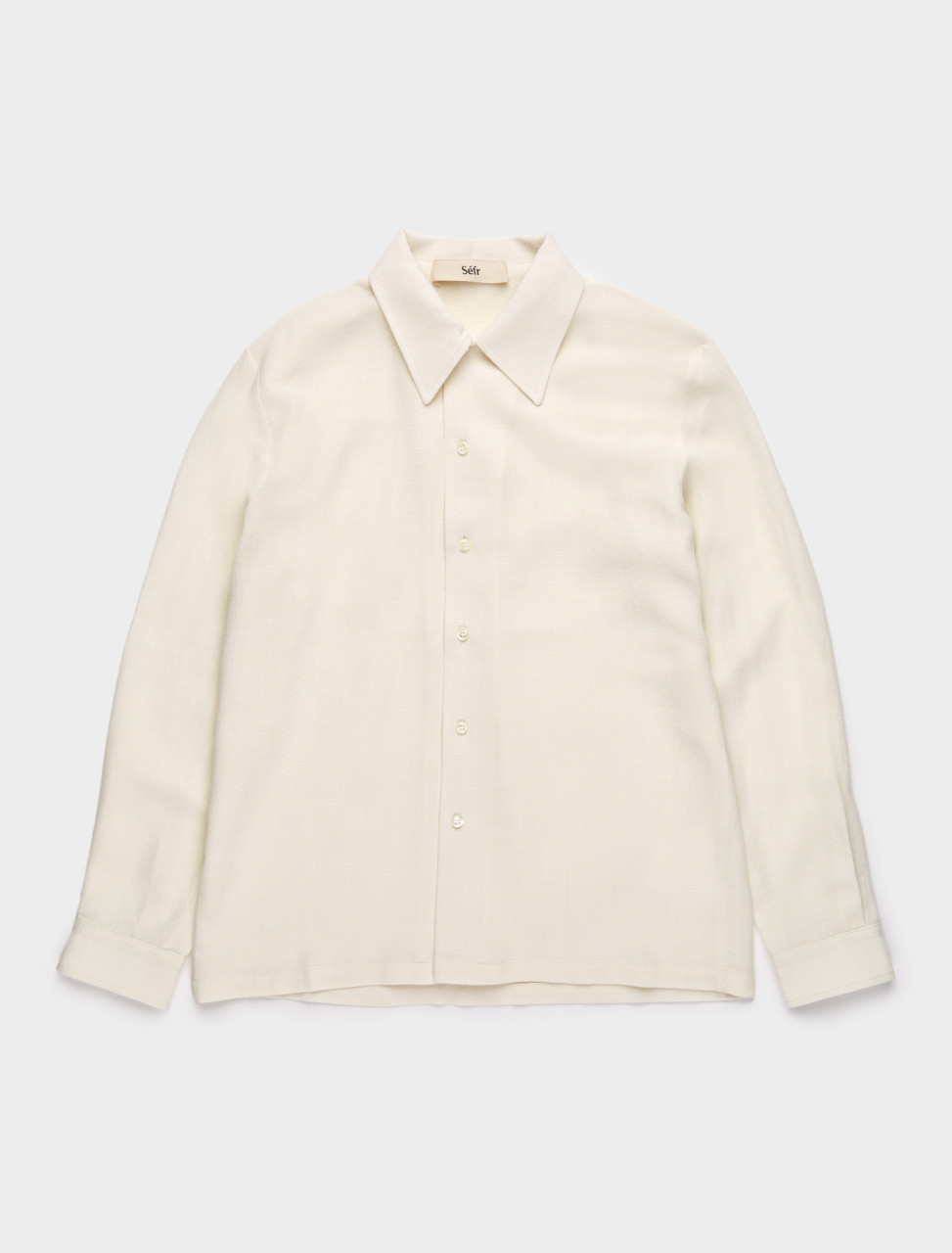 271-RS-OW SÉFR RAMPOUA SHIRT IN OFF WHITE