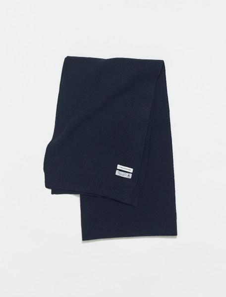 307-CS5082NB COLORFUL STANDARD MERINO WOOL SCARF NAVY BLUE