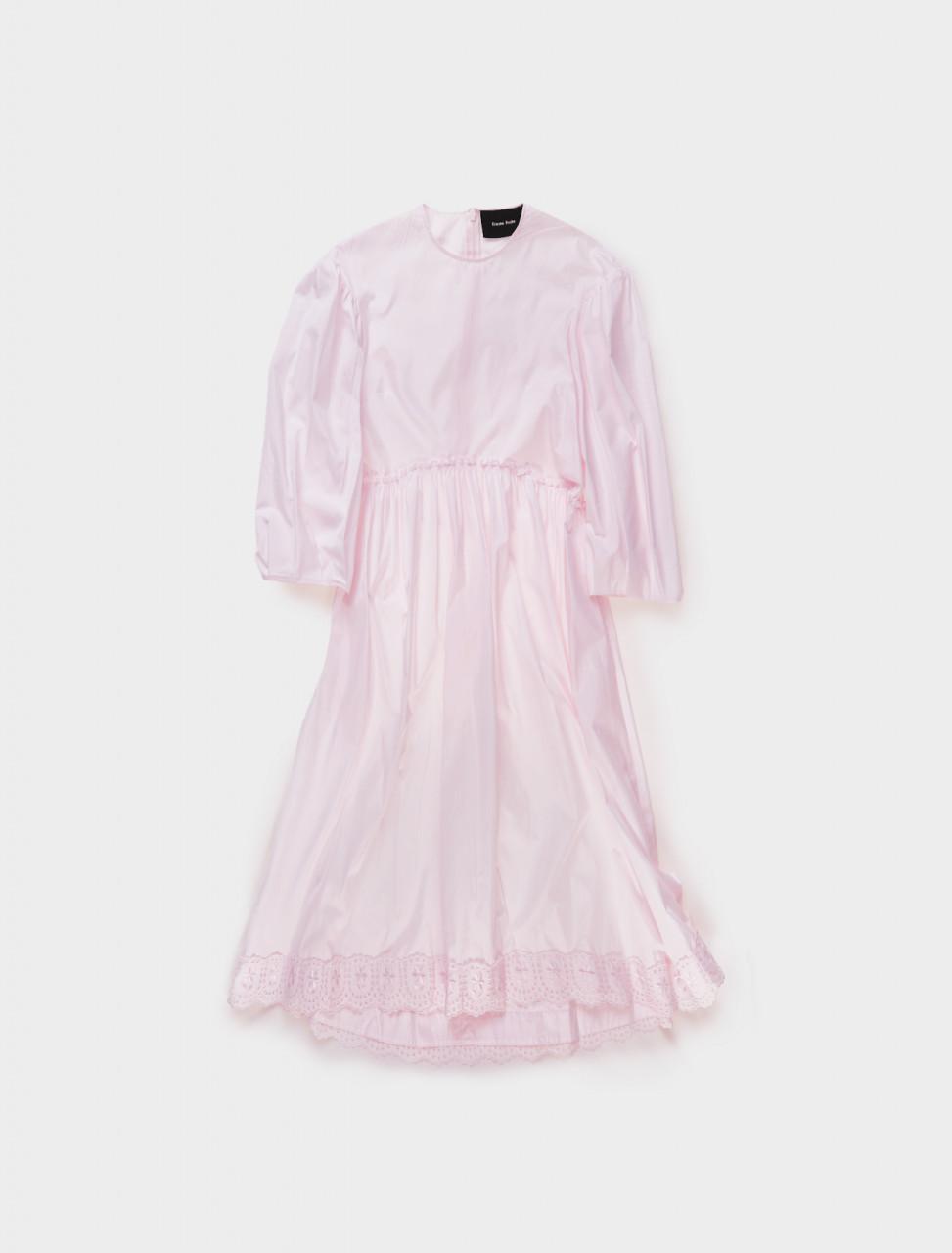Simone Rocha Pink Smock Dress Front