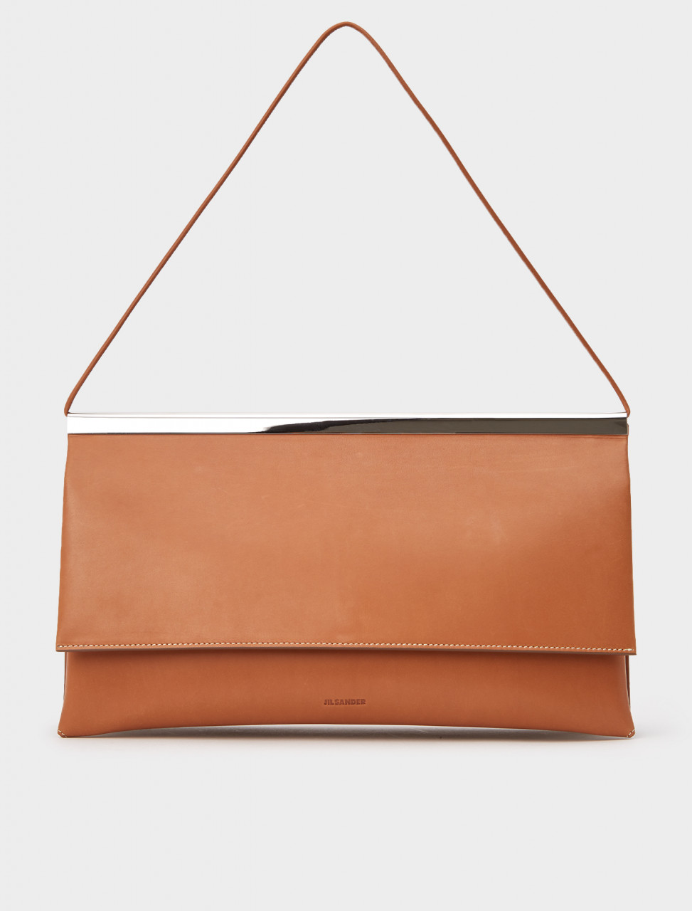 130-JSWR852474-WRB00078N-227 JIL SANDER SHOULDER BAG RUST
