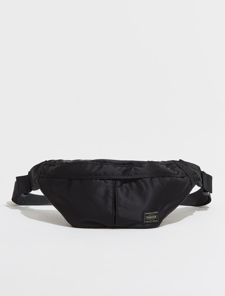 622 66629 10 PORTER YOSHIDA & CO. SMALL TANKER WAIST BAG IN BLACK