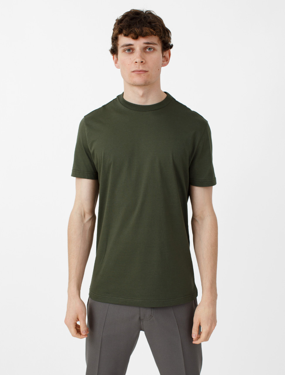 3 Pack Jersey T-Shirt in Militar, Lichen and Olive
